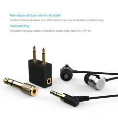 dunu dn 1000 in ear wired earphone headset headphone stereo 3 5mm audio plug with earbuds carrying pouch storage box 6 35mm and aircraft adapter for iphone  [ 1000 x 1000 Pixel ]