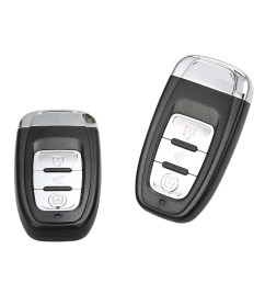 second hand universal version smart key pke passive keyless entry car alarm system engine start button remote engine start remote open and close car windows [ 1000 x 1000 Pixel ]