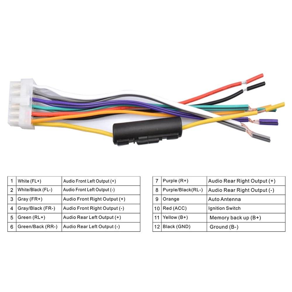 medium resolution of 1 din car radio player auto audio mp3 fm radio with remote control