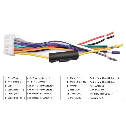small resolution of 1 din car radio player auto audio mp3 fm radio with remote control