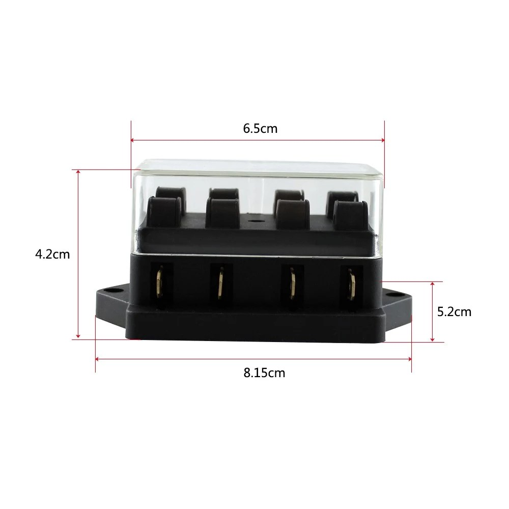 hight resolution of way fuse holder box car vehicle automotive circuit blade fuse block with standard fuses