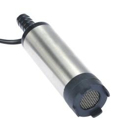 12v diesel fuel water pump for car truck caravan marine boat sales online silver tomtop [ 1000 x 1000 Pixel ]