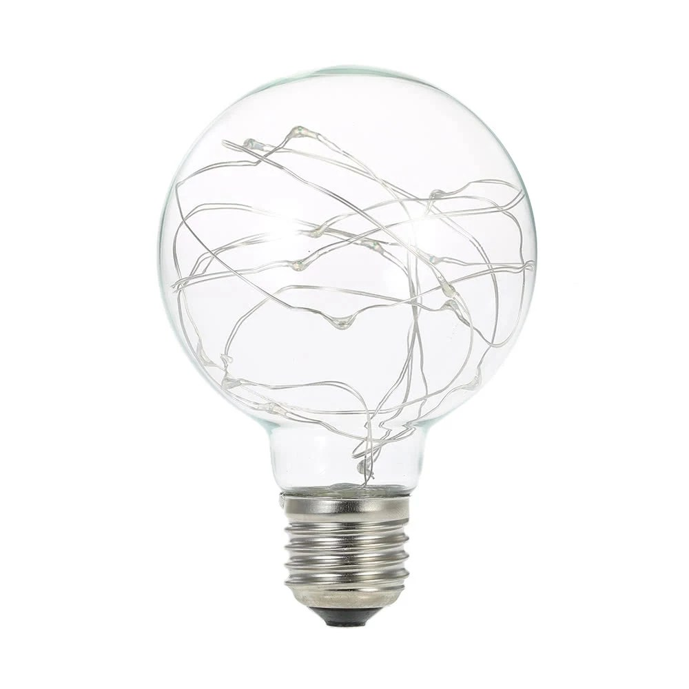 220-240V E27 Copper Wire String Light Fairy LED Bulb