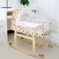 3 in 1 Portable Baby Cradle Bassinet Bed Newborn baby Car ...