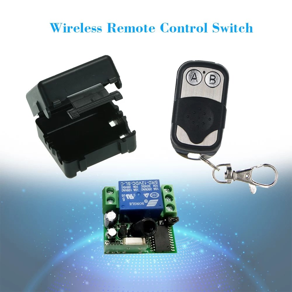 hight resolution of smart home wireless remote control relay receiver transmitter universal switch
