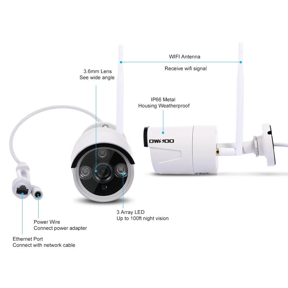 medium resolution of wireless nvr kit security cctv surveillance system wifi home security camera sales online eu plug tomtop