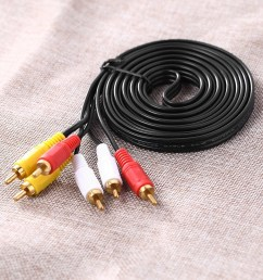 1 rca audio cable [ 1000 x 1000 Pixel ]