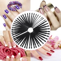 50pcs Nail Color Card Nail Design Training Card Nail Art ...