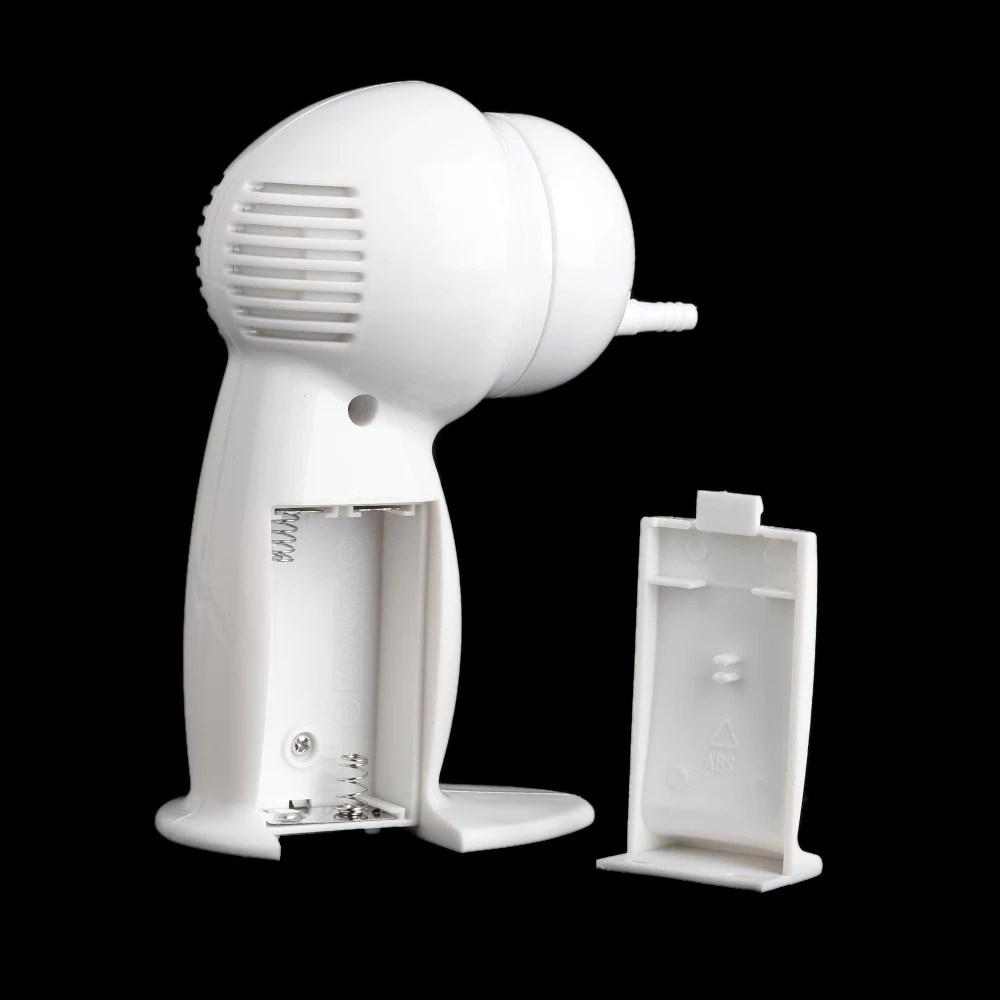 Ear Vacuum Cleaner Electronic Ear Cleaner Ear Wax Remove Wax Vac Removes Wax Safely Sales Online all new white - Tomtop