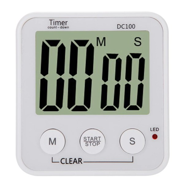 Digital Clock Countdown Timer