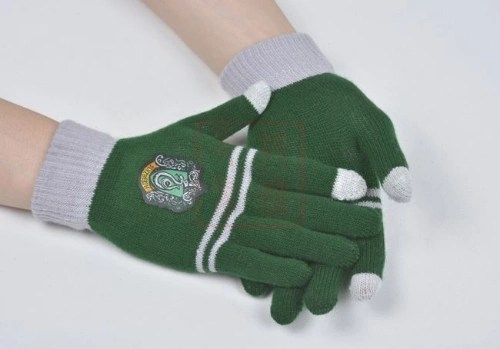 Harry Potter College Winter Warmth Gloves Slytherin Gloves Gloves Green