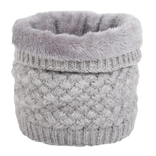 Unisex Fashion Add Wool Upset Knitting Scarf Set