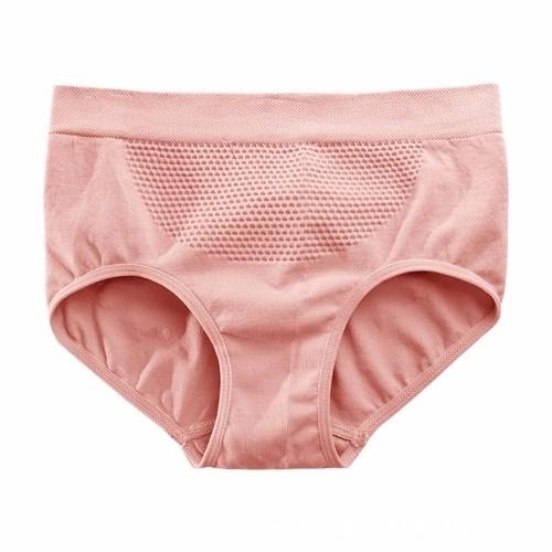 Women Triangle Seamless Panties Honeycomb Underpants