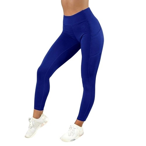 Women Yoga Pants Elastic Sport Thin  Dry Trousers