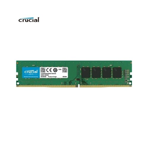 Crucial DDR4 2666 Memory RAM 8G 2666 MT/s 288-Pin 1.2V for Desktop CT8G4DFS8266