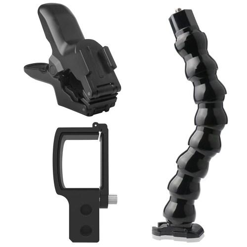 Camera Clamp Mount + Flexible Bracket Stand + Camera Holder Kit