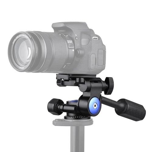 Andoer A-40 3 Way Camera Video Head Aluminum Alloy 360
