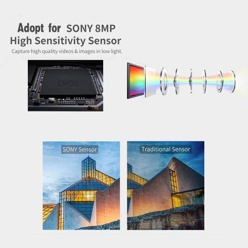 ORDRO HDV-Z20 1080P Full HD 24MP WiFi Digital Video Camera Camcorder