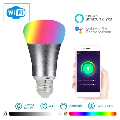 9W B22 2105 Smart WIFI LED Bulb WIFI Light RGB Bulb