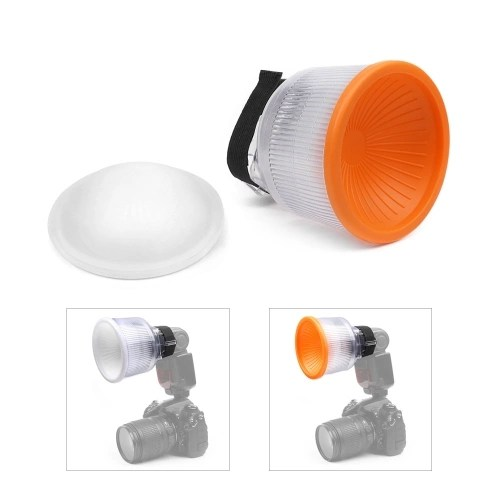 Universal On-Camera Speedlite Flash Light Diffuser