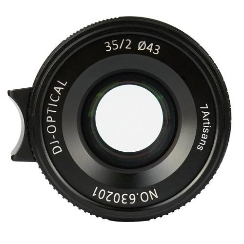 7artisans 35mm F2.0 Manual Focus Camera Lens Full Frame Large Aperture for Leica M2/M3/M4P/M5/M6/M7/M8/M9/M9P/M10/M240/M240P/M262 M-Mount Mirrorless Cameras