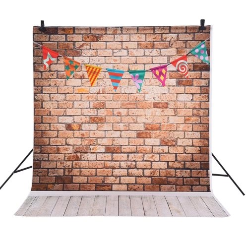 Andoer 1.5 * 2m Photography Background Backdrop Christmas Gift Star Pattern for Children Kids Baby Photo Studio Portrait Shooting