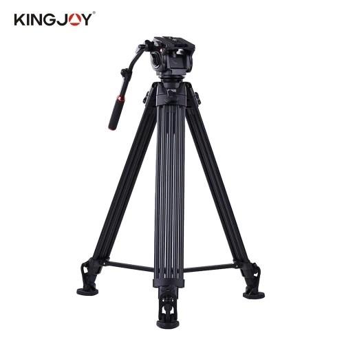 Kingjoy VT-3500 197cm/6.5ft Camera Camcorder Tripod with