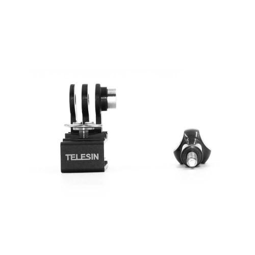 TELESIN Multi Functional Aluminum Alloy Cap Clip Baseball Hat Clamp Mount Backpack Clip for GoPro Hero 7/6/5/4 Xiaomi YI /SJCAM Action Sports Camera