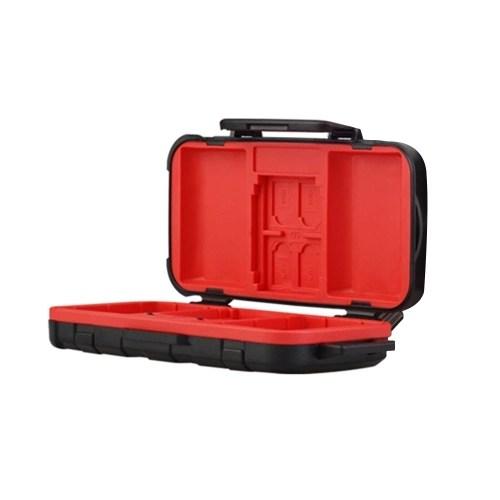 LENSGO D850 Waterproof Memory Card Case Battery Storage Box