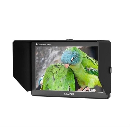 LILLIPUT A8S Camera Monitor Support HDMI & 3G-SDI Signal Transmission for Camcorder DSLR