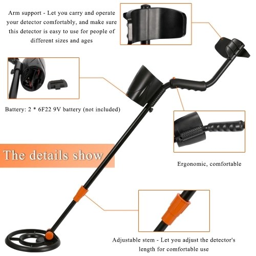 Multifunctional High Precision Gold Metal Detector with Headphone