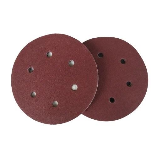 100 PCS 125mm Hook Loop Sandpaper with 8 Hole Sand Pads Set 60-1000 Grit Sander Disc Abrasives Tools for Polish Machine