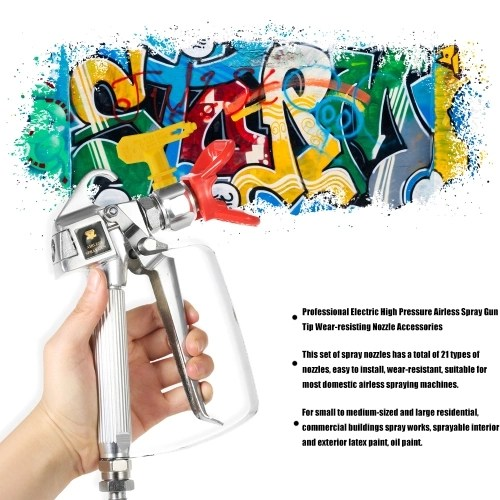 Professional Electric High Pressure Airless Spray Machine Tip Wear-resisting Nozzle Accessories