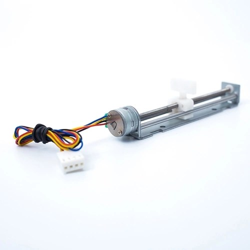 12V Stepper Motor Stroke 80mm with Slider Motor for DIY Small Laser Engraving Machine