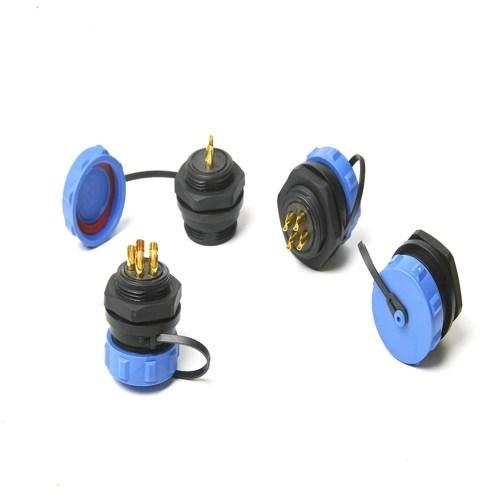SP21 IP68 Waterproof Connectors Circular Socket 2Pin 3Pin 4Pin 5Pin 7Pin 9Pin Multipole Plug