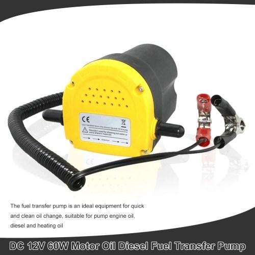 Car Engine Oil Pump 12V Electric Auto Oil Fluid Pump Extractor