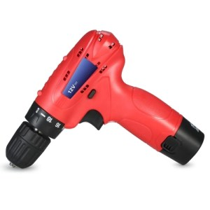 12V Lithium-Ion Multi-functional Electric Cordless Drill Rechargeable Screwdriver with