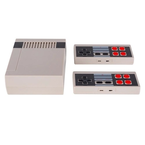 JY01 Classic Family Game Console with Dual 2.4G Wireless Controllers