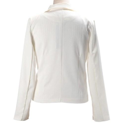 2012 Stylish Women Blazer Jacket Coat Tunic Casual Suit Foldable Sleeve