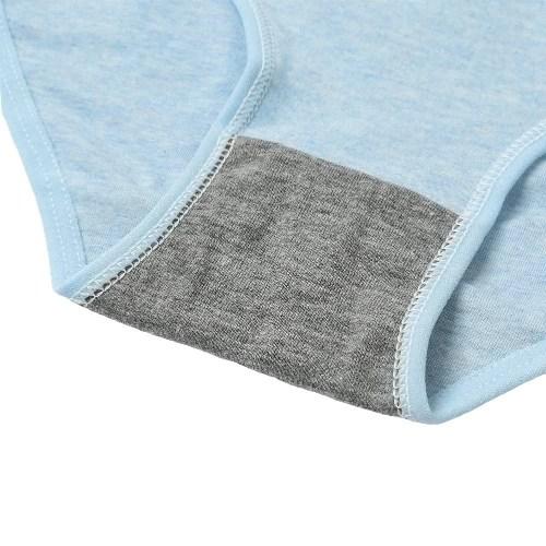 New Sexy Women Cotton Briefs Solid Color Low-Rise Panties Soft Lingerie Underpants Underwear