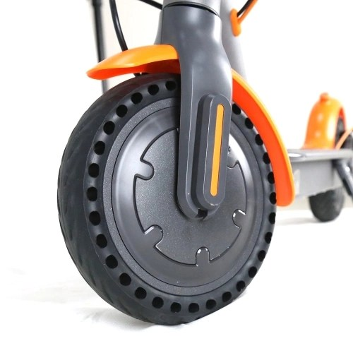 Motor and Explosion Proof Honeycomb Structure Anti-Skid Wheel Tire Set for Xiaomi M365 Electric Scooter