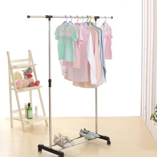 iKayaa Metal Adjustable Clothes Garment Coat Rack