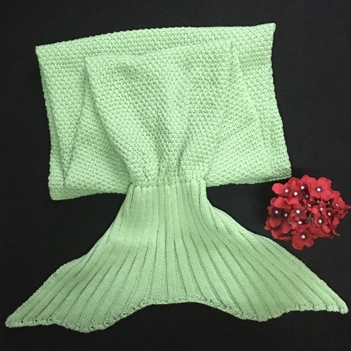 Mermaid Tail Blanket for Baby and Lady