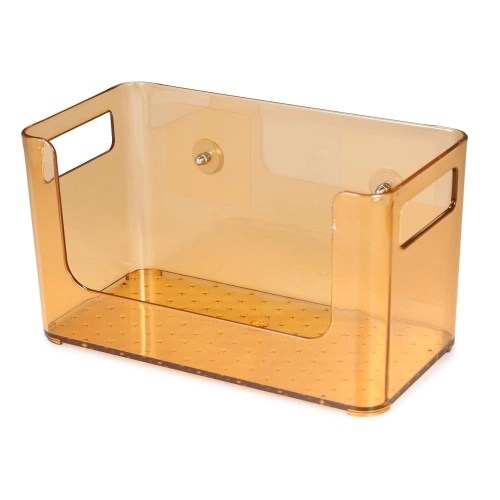 Bathroom Shower Suction Caddy Basket Holder Storage Organizer