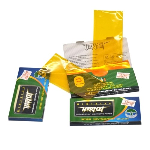 78mm 50pcs/booklet Natural 100% Transparent Rolling Paper