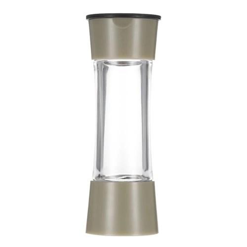 8pcs Rotating Spices Bottles/Set Acrylic Seasoning Rack Salt Pepper Storage Organizer Home Kitchen Tool