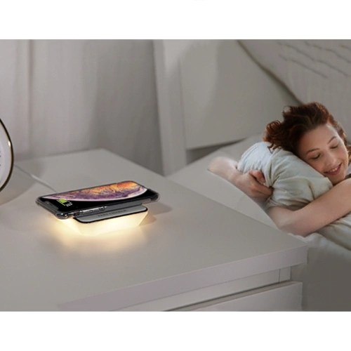 Night Light and Wireless Charger