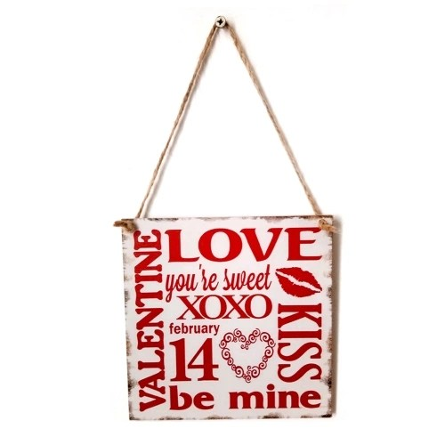 Vintage Style Wooden Wall Hanging Decoration Board