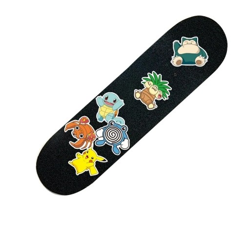 80Pcs Classic Anime Stickers For Laptop Phone Luggage Bike Motorcycle Mixed Cartoon Pvc Waterproof Sticker