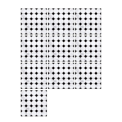 10 Pcs/Set Self Adhesive Tile Stickers
